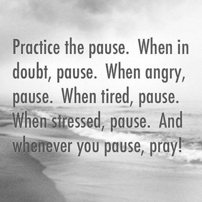A Pause Day to Have